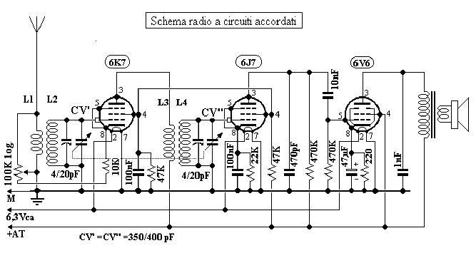 Schemi Elettrici Radio A Valvole Gratis : Schema elettrico radio a valvole pannelli termoisolanti