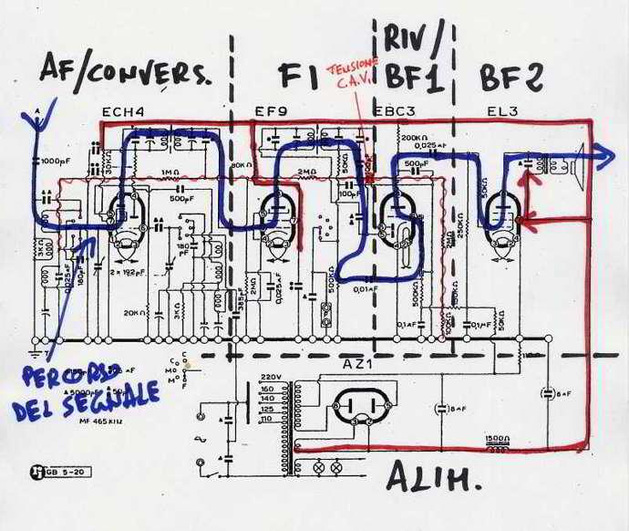 Schemi Elettrici Radio D Epoca : Leggere uno schema how to read a schematic diagram
